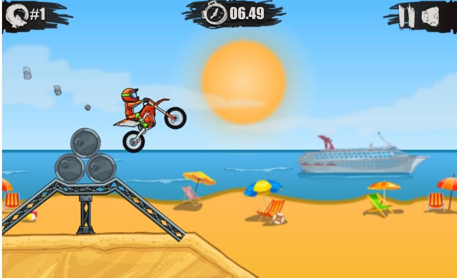 chơi game đua mô tô X3m