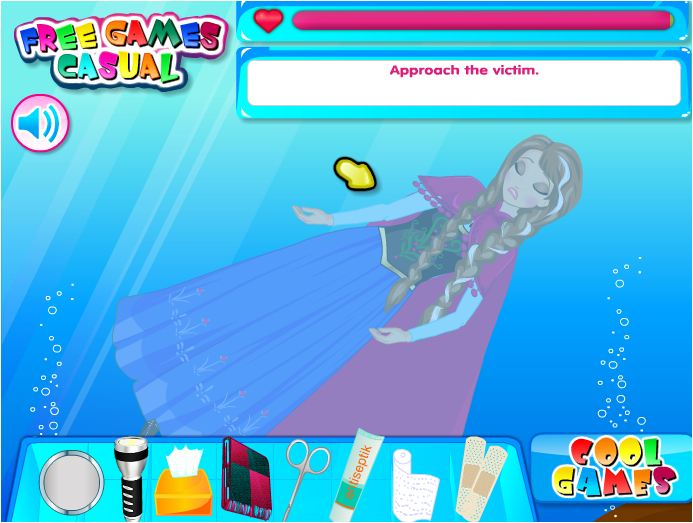 game Elsa và Anna gặp nạn