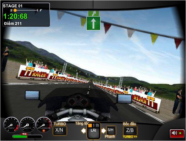 chơi game đua xe bốc đầu