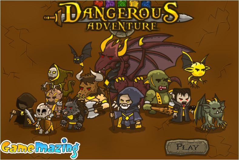Game cuộc phiêu lưu nguy hiểm