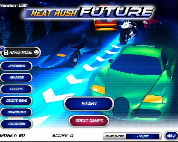 chơi game đường đua tương lai