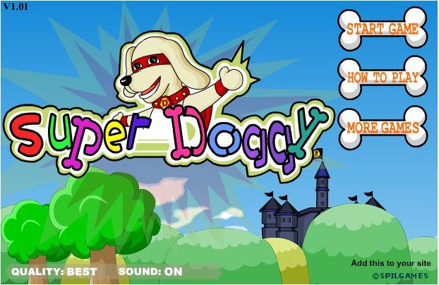 chơi game siêu nhân cún