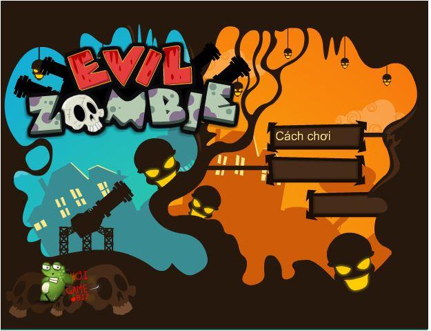 chơi game bắn zombie