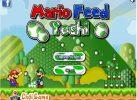 Game Mario cho khủng long ăn