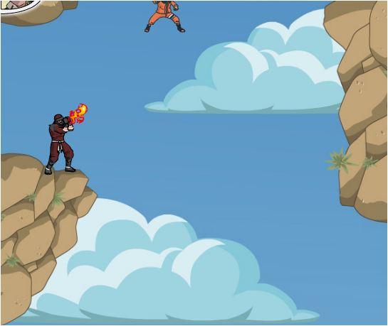 Naruto nhảy dù đột kích
