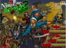 Game Ninja diệt Zombie