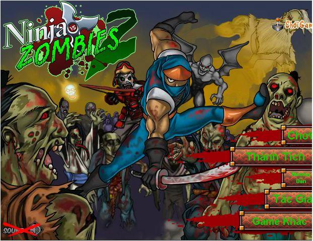 chơi game Ninjda diệt Zombie