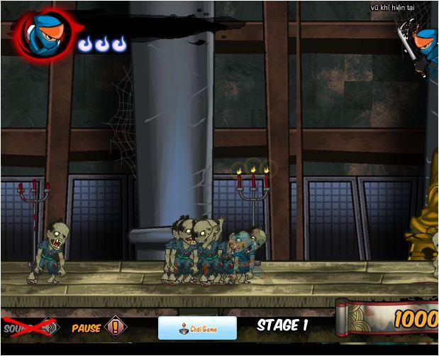 Ninjda diệt Zombie