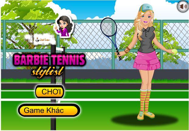 chơi game thời trang Tennis
