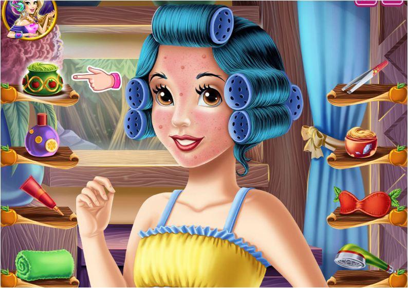 game trang điểm công chúa bạch tuyết