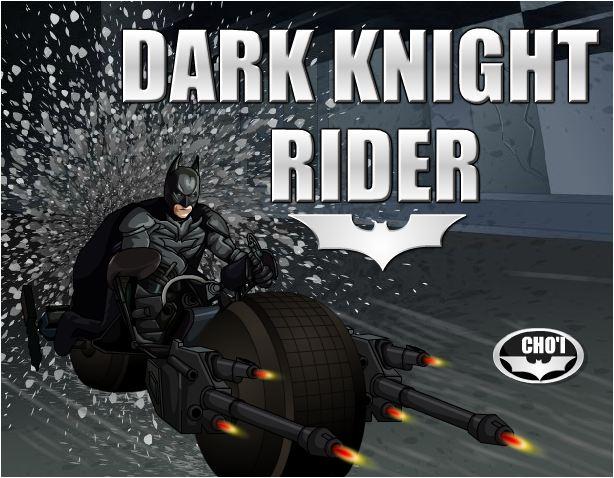 chơi game Batman đua xe bắn súng