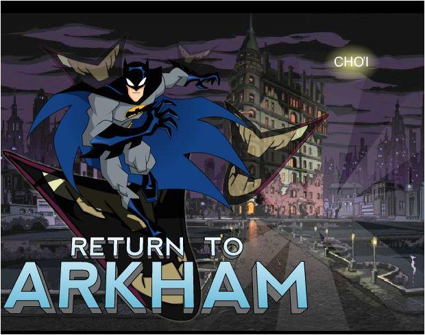 chơi game Batman tìm đường