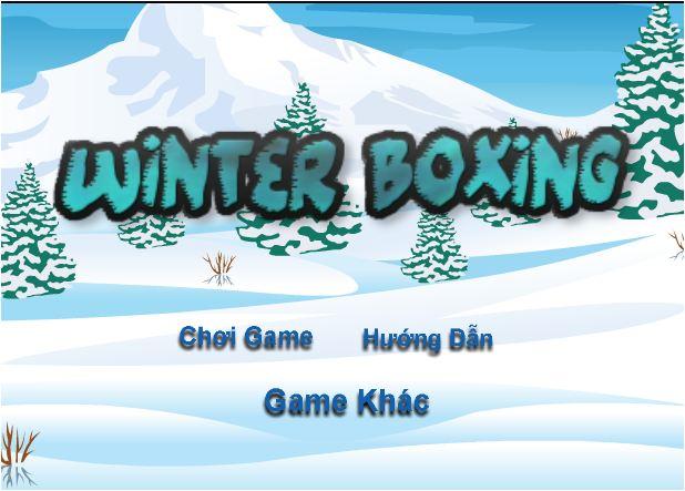 chơi game Boxing mùa đông