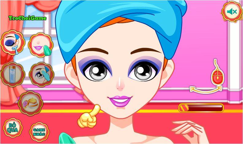 Choi game công chúa xấu xí