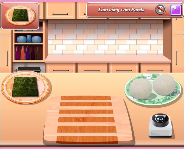 chơi game làm cơm hộp