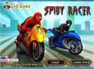 Game Siêu nhện đua xe