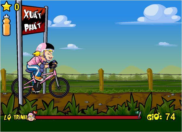 game đua xe đạp băng đồng