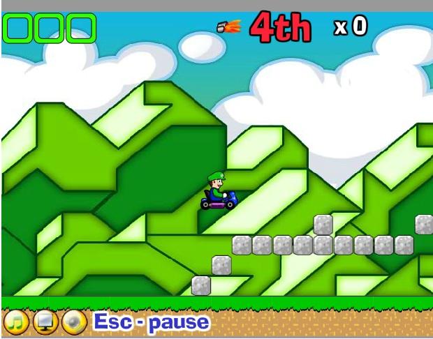 Mario đua xe phiêu lưu