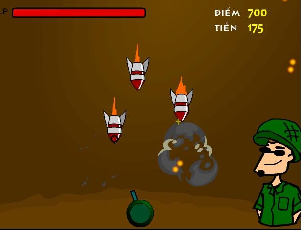 game phòng thủ tên lửa
