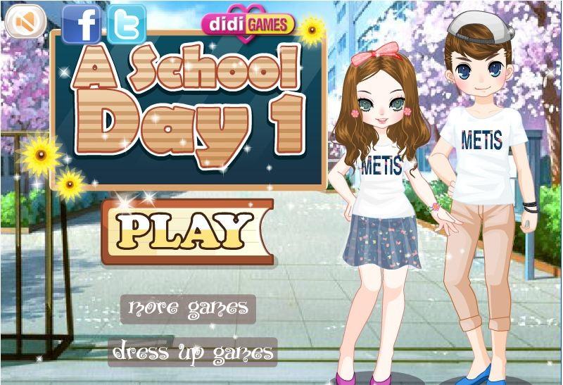 chơi game trường học lãng mạng