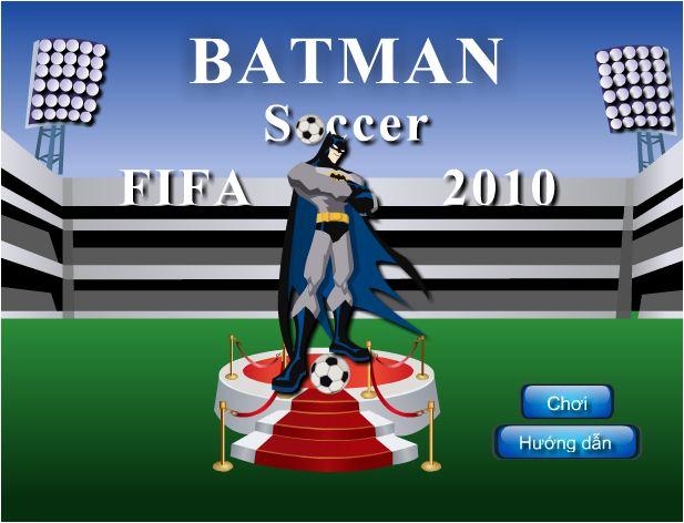 chơi game Batman chơi bóng