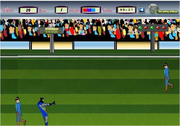game Batman chơi bóng
