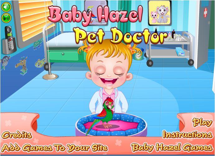 chơi game bác sỹ thú cưng