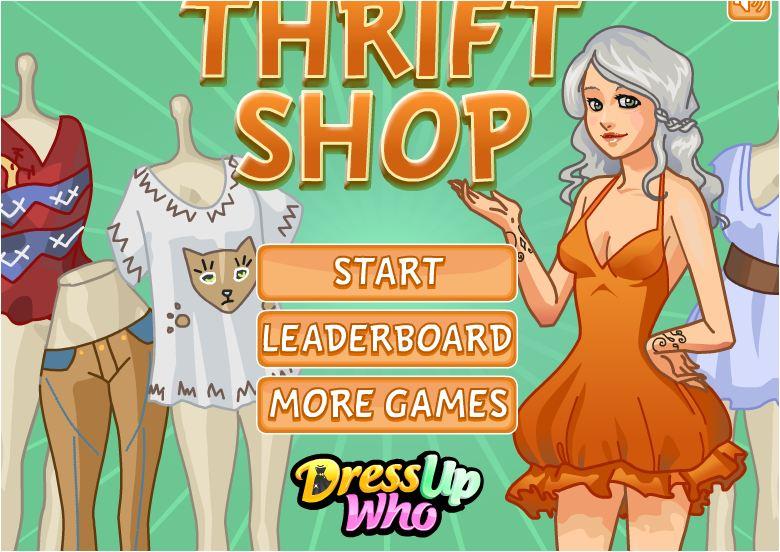 chơi game bán hàng quần áo