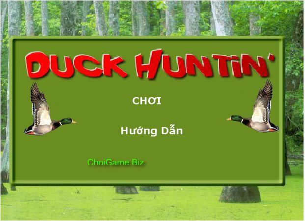 chơi game bắn vịt trong rừng