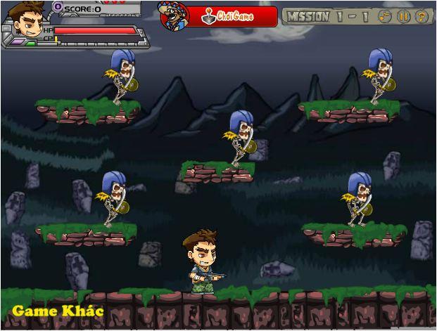 game thám hiểm địa ngục