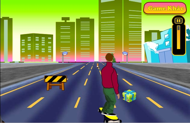 game trượt ván đường phố