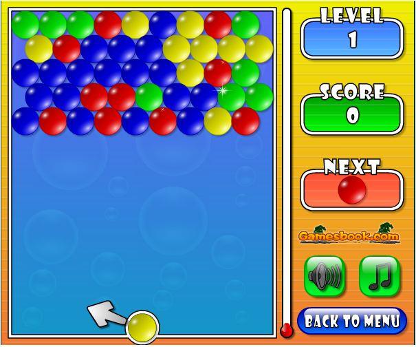 chơi game bắn bóng màu