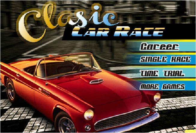 chơi game đua xe cổ điển