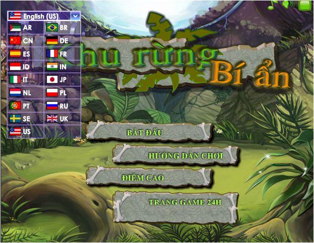 chơi game khu rừng bí ẩn