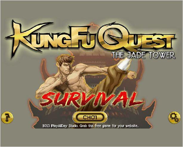 chơi game Kungfu phiêu lưu tháp ngọc