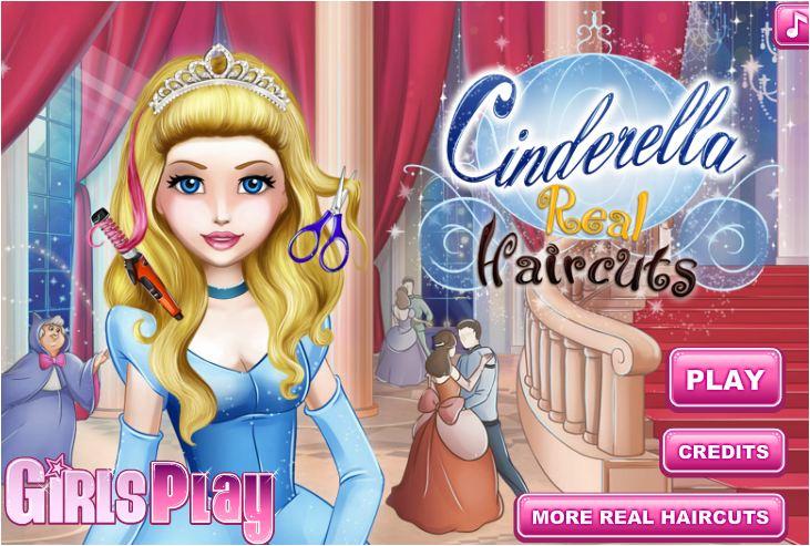 chơi game làm tóc công chúa