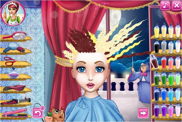 làm tóc công chúa