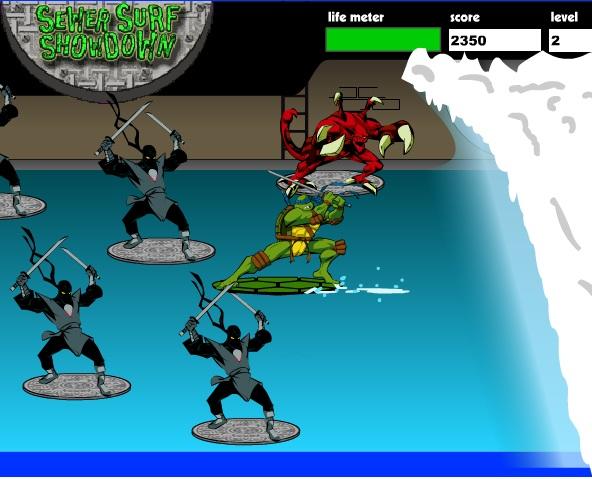 Ninja rùa lướt sóng