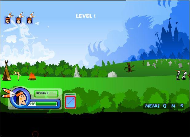 game thổ dân diệt zombies