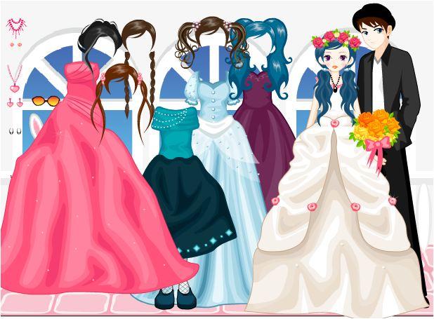 game trang phục cô dâu và phù dâu
