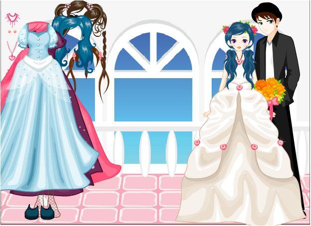 trang phục cô dâu và phù dâu