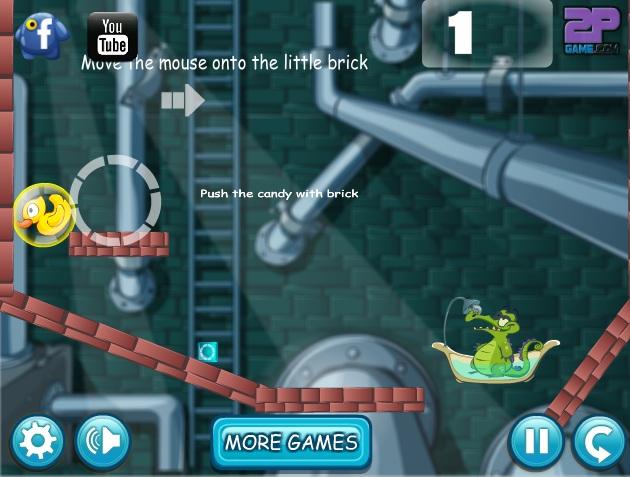game tắm cho cá sấu 2