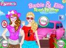 Game Trang điểm cho Barbie đi chơi
