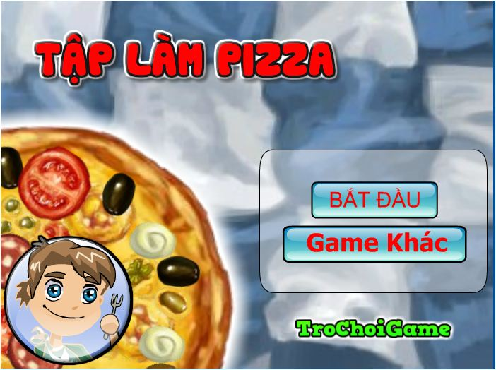 tập làm piza